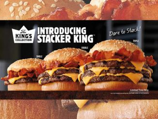 Burger King Canada Launches New Stacker King Collection