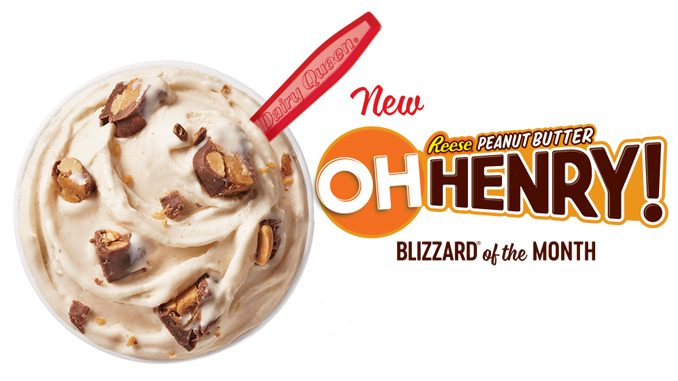 Dairy Queen Canada Introduces New OH Henry! Reese Peanut Butter Blizzard