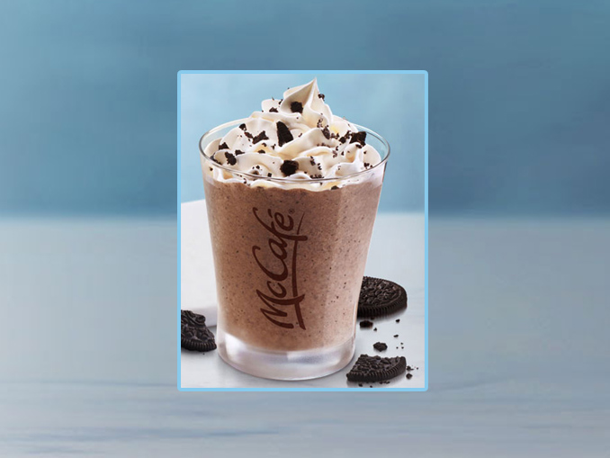 McDonald's Canada Brings Back The Oreo Cookie Coffee Iced Frappé