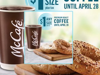 McDonald's Canada Offers $1 Any Size Coffee In Select Regions Through April 28, 2019