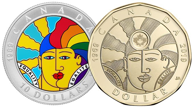 Royal Canadian Mint Unveils New Loonie Marking 50 years Of Progress For LGBTQ People