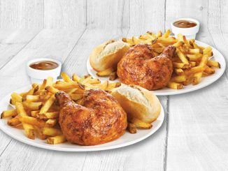 Swiss Chalet Welcomes Back 2 Can Dine For $15.99 Deal Through April 28, 2019