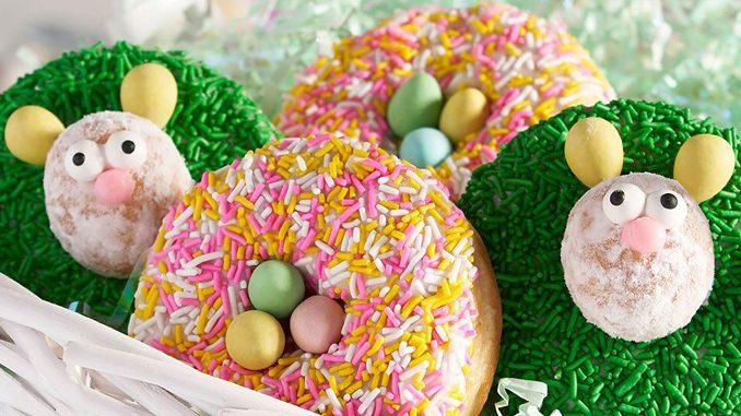 Tim Hortons Unveils Cadbury Mini Eggs Donuts As Part Of 2019 Spring Treats Lineup