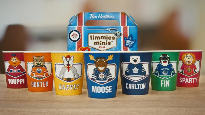 Tim Hortons Unveils New Limited Edition NHL Collectable Cups