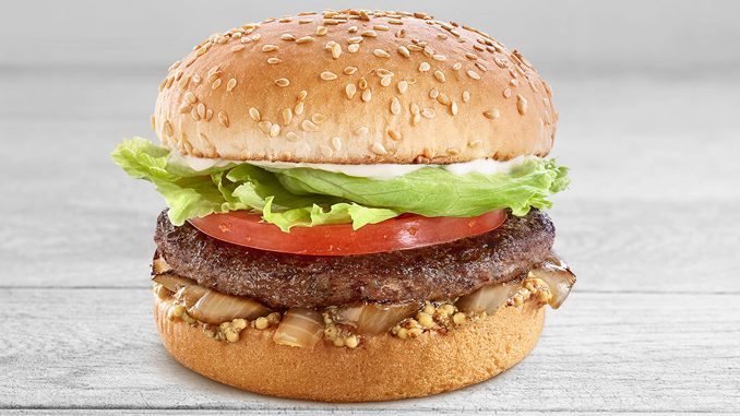 A&W Canada Is Selling A Bison Burger In Manitoba