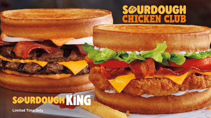 Burger King Canada Introduces New Sourdough Sandwich Lineup