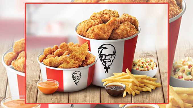 KFC Canada Offers Mother's Day $30 Double Bucket