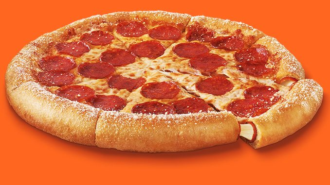 Little Caesars Canada Introduces New Pepperoni And Cheese Stuffed Crazy Crust Pizza