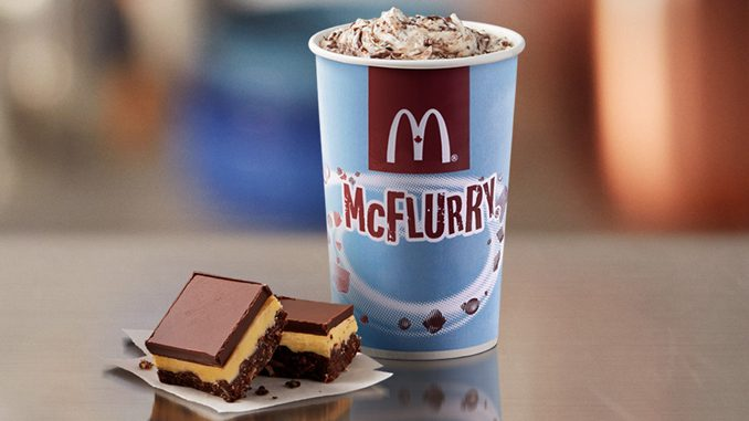 McDonald's Canada Adds New Chocolate Nanaimo McFlurry