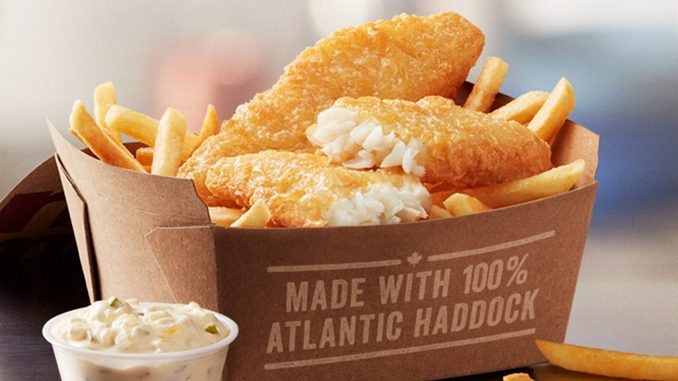 McDonald's Canada Launches New Fish & Chips Meal Nationwide