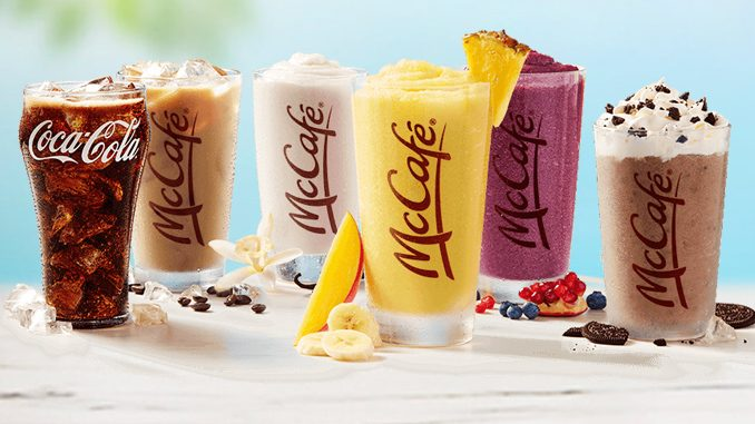 McDonald's Canada Welcomes Back Summer Drink Days For 2019