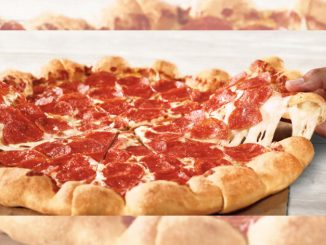 Pizza Hut Canada Brings Back 5 Cheese Stuffed Crust