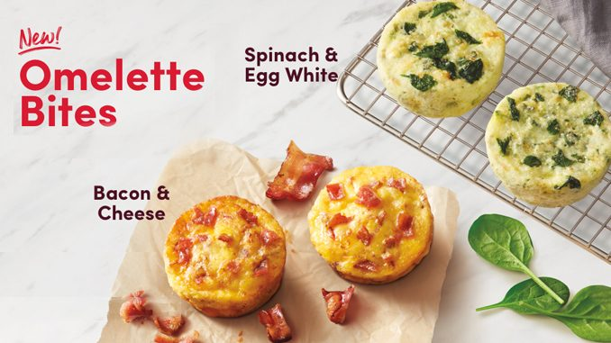 Tim Hortons Introduces New Omelette Bites And New Chicken Caesar Wrap