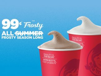 Wendy's Canada Welcomes Back 99-Cent Frosty Deal Through September 8, 2019