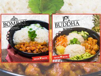 Wok Box Introduces New Bombay Bowl And New Buddha bowl