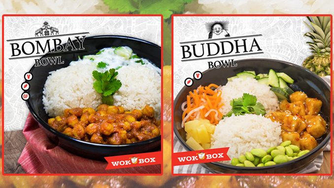 Wok Box Introduces New Bombay Bowl And New Buddha bowl