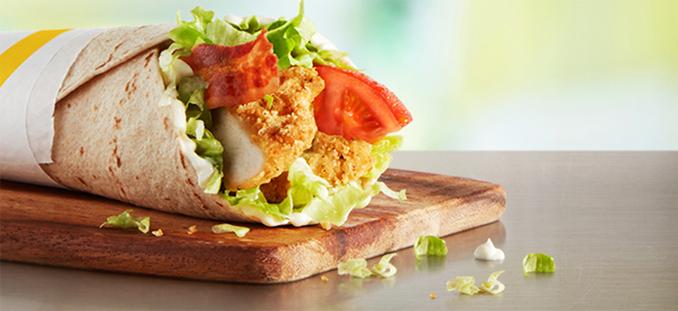 Chicken & Bacon McWrap