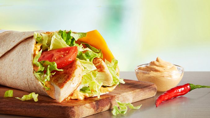 McDonald's Canada Adds New Cajun Chicken And Chicken Caesar McWraps