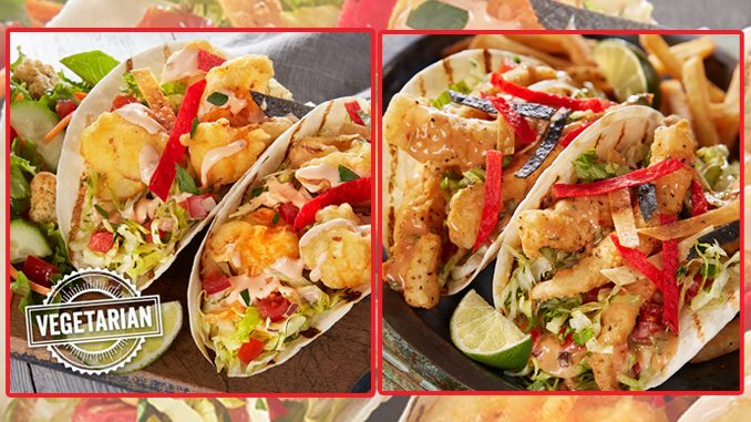 Montana's Adds New Buffalo Cauliflower Tacos And New Fish & Chips Tacos