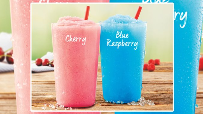 Tim Hortons Introduces New Slushy Beverages