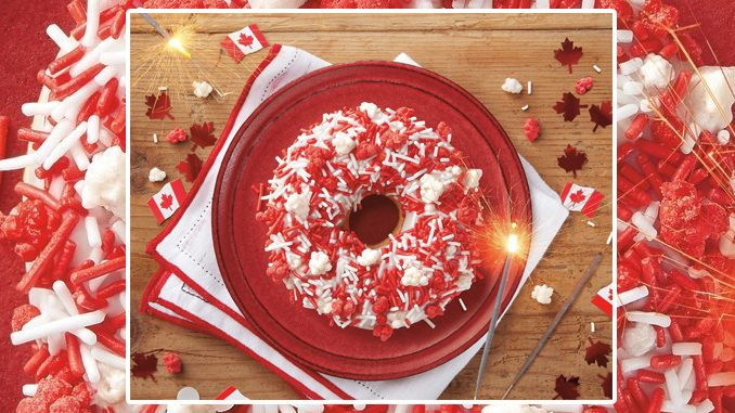 Tim Hortons Unveils New Canada Day Fireworks Donut