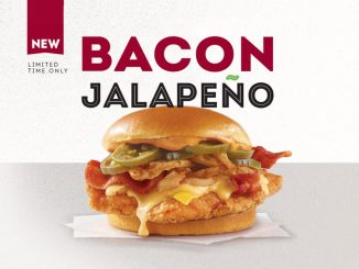Wendy's Canada Introduces New Bacon Jalapeño Chicken Sandwich