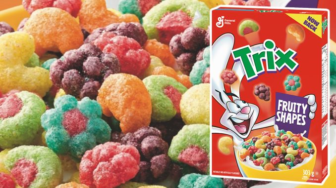 General Mills Canada Brings Back Trix Cereal