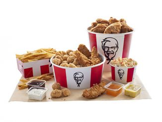 KFC Canada Puts Together New $30 Dipping Double Bucket