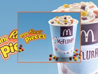 McDonald's Canada Whips Up New Mini Reese's Pieces McFlurry