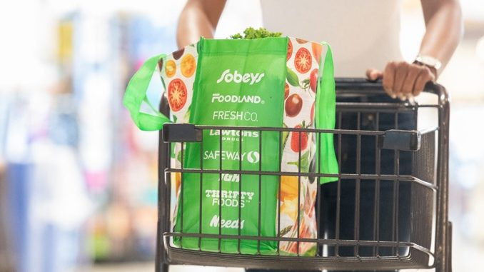 Sobeys Set To Eliminate Plastic Bags From All Stores In 2020