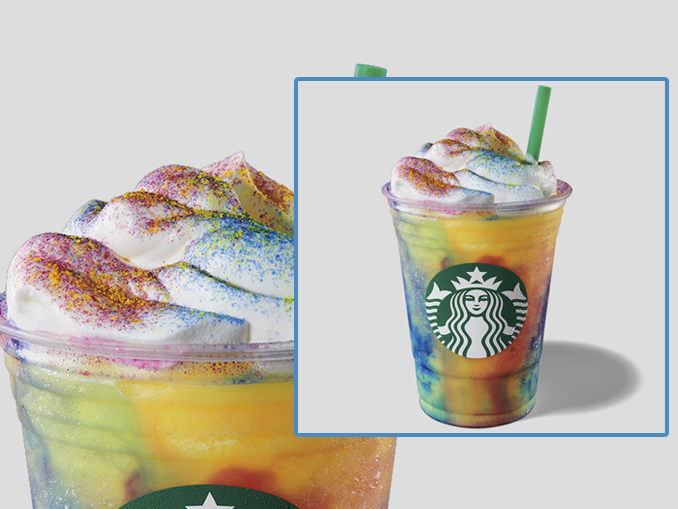 Starbucks Canada Introduces New Tie-Dye Frappuccino