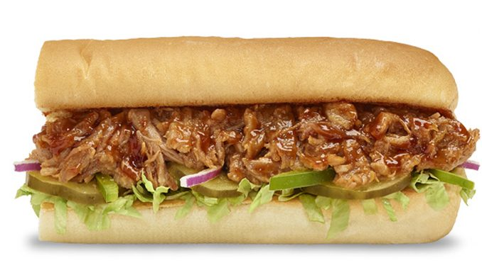 Subway Canada Introduces New BBQ Pulled Pork Sandwich
