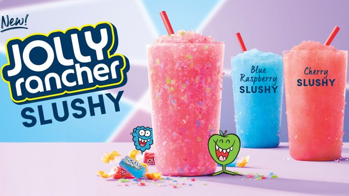 Tim Hortons Just Dropped A New Jolly Rancher Slushy