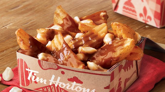 Tim Hortons Welcomes Back Poutine For A Limited Time