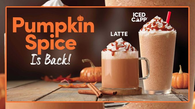 2019 Pumpkin Spice Season Arrives At Tim Hortons