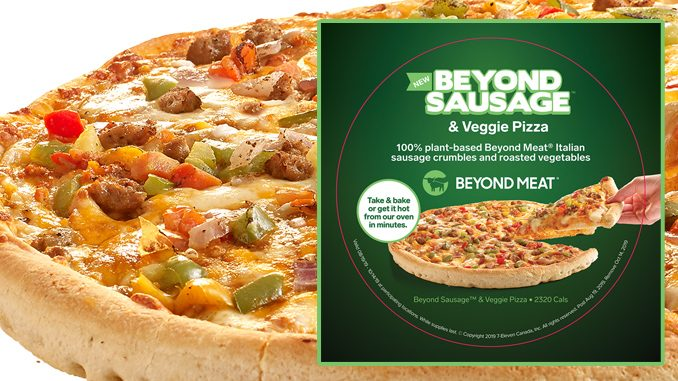 7-Eleven Canada Introduces New Plant-Based Beyond Meat Pizza
