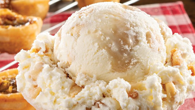 New Butter Tart Ice Cream Is The August 2019 Flavour Of The Month At Baskin-Robbins Canada