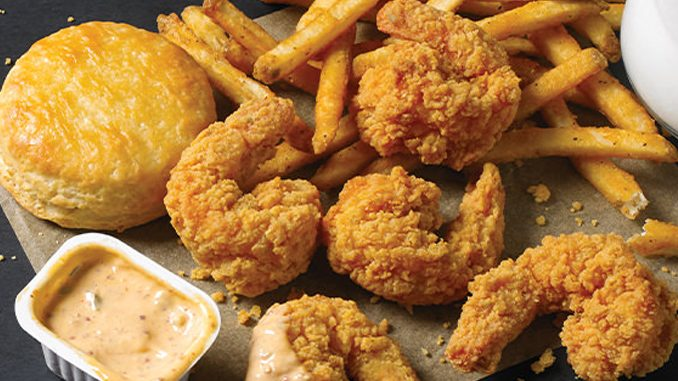 Popeyes Canada Introduces New Buttermilk Shrimp Combo