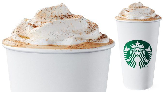 Starbucks Canada Welcomes Back Pumpkin Spice Latte For Fall 2019