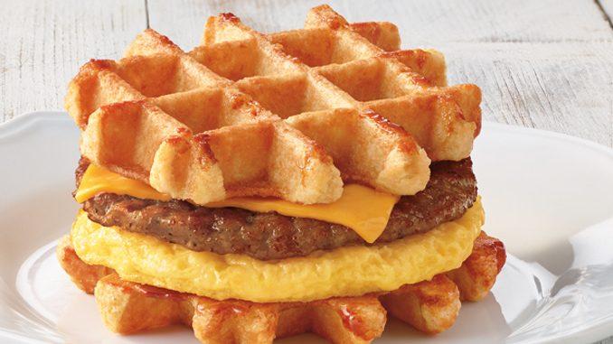 Tim Hortons Brings Back Belgian Waffle Breakfast Sandwich