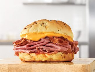 Arby's Canada Offers 2 for $8 Bacon Beef 'N Cheddar Sandwiches