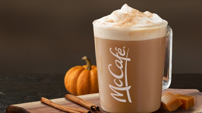 McDonald's Canada Adds New Caramel Pumpkin Spice Latte And New Caramel Apple Oat Muffin