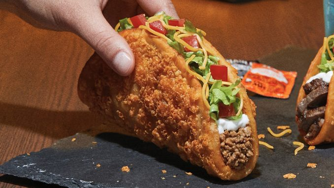 Taco Bell Canada Introduces New Toasted Cheesy Chalupa