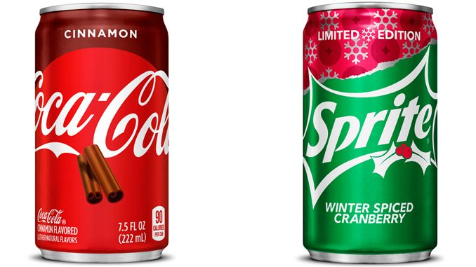 Coca-Cola Unveils 2 New Holiday Flavours: Coca-Cola Cinnamon And Sprite Winter Spiced Cranberry