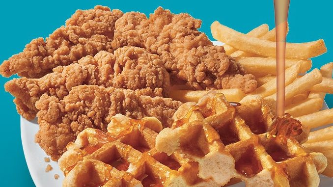 Dairy Queen Canada Welcomes Back The Chicken And Waffle Basket