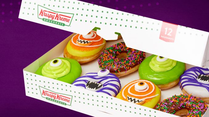 Krispy Kreme Canada Celebrates Halloween 2019 With New Monster Doughnuts