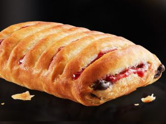 McDonald's Canada Introduces New Chocolate Raspberry Danish