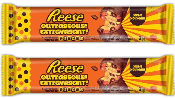New Reese Outrageous Bar Debuts In Canada