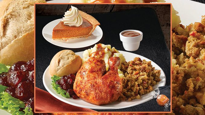 Swiss Chalet Puts Together Thanksgiving Feast Deal Through October 14, 2019