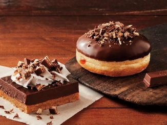 Tim Hortons Introduces New Kit Kat Baked Goods And Beverages